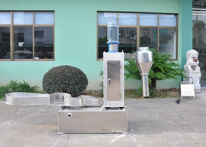 High Capacity Plastic Dewatering Machine 500kg/H Industrial 1800*1800*2200mm
