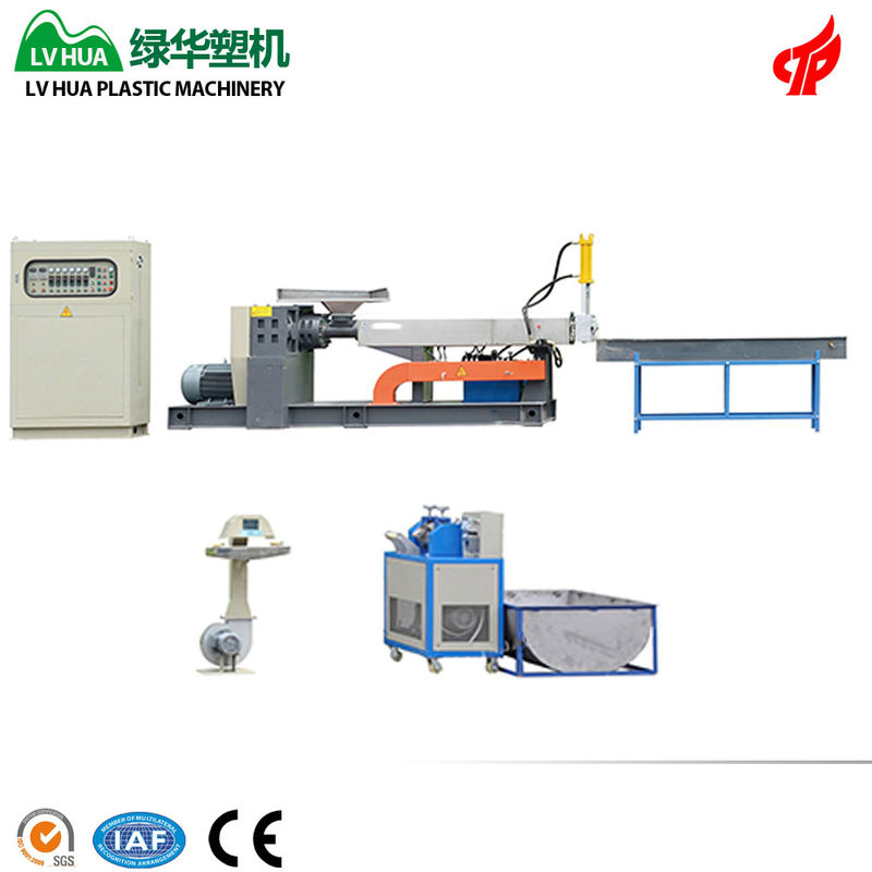 Automatic Recycling Pet Machine / Plastic Pet Bottle Recycling Plant Custom Voltage